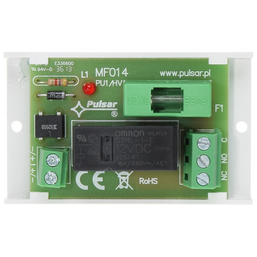 Picture of RELAY MODULE PCB 1 AWZ514 PULSAR
