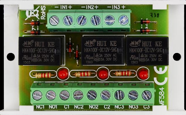 Εικόνα της RELAY MODULE PCB 3 AWZ528 PULSAR