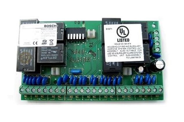 Picture of DX3010 BOSCH relay κάρτα επέκτασης 8 εξόδων