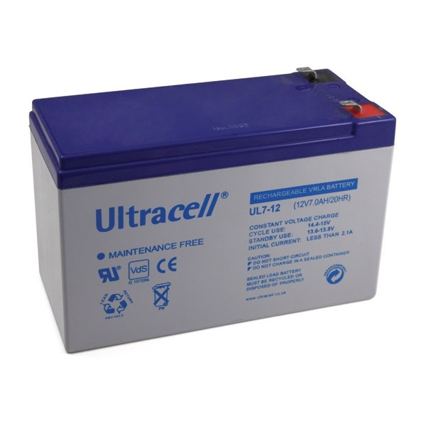 Εικόνα της UltraCell 12V 7.2Ah Battery
