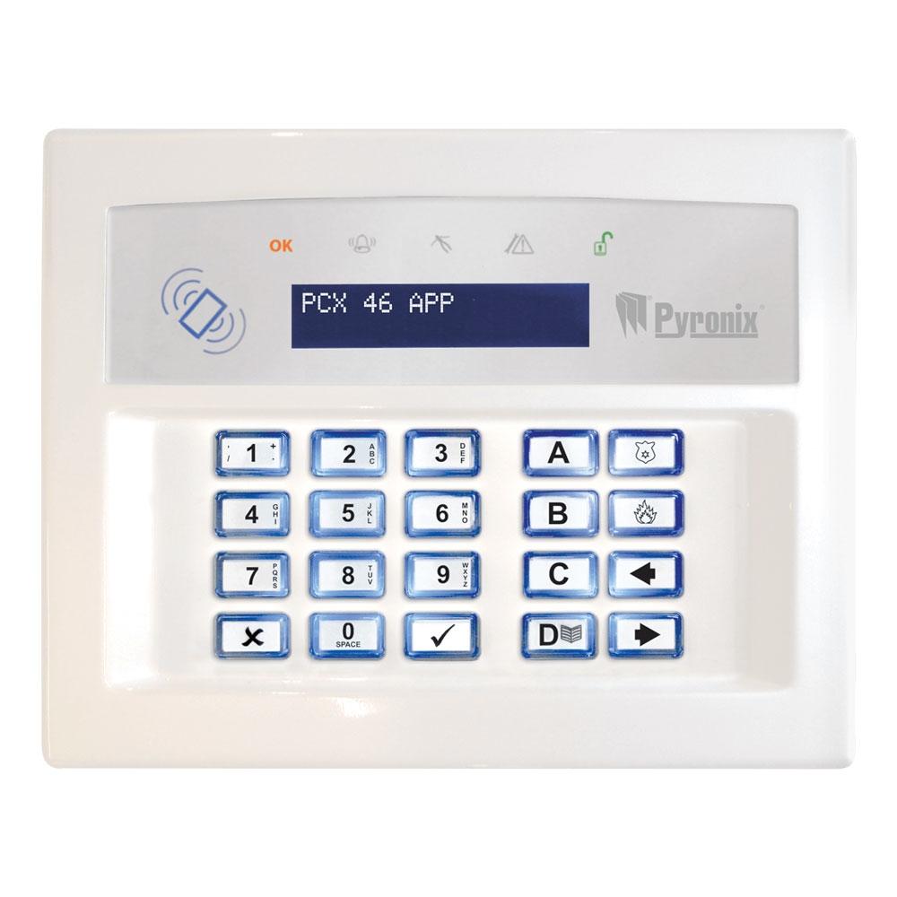 Εικόνα της PCX-LCDP-W LCD Keypad (White) Pyronix