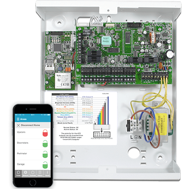 Picture of PCX46S-APP/AM PYRONIX Hybrid Controll Panel