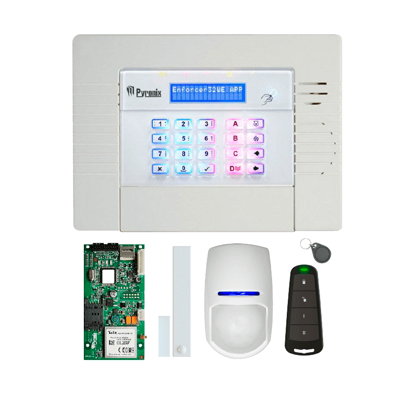 Picture of KIT-ENF32WE-APP/GPRS PYRONIX Enforcer Wireless Con