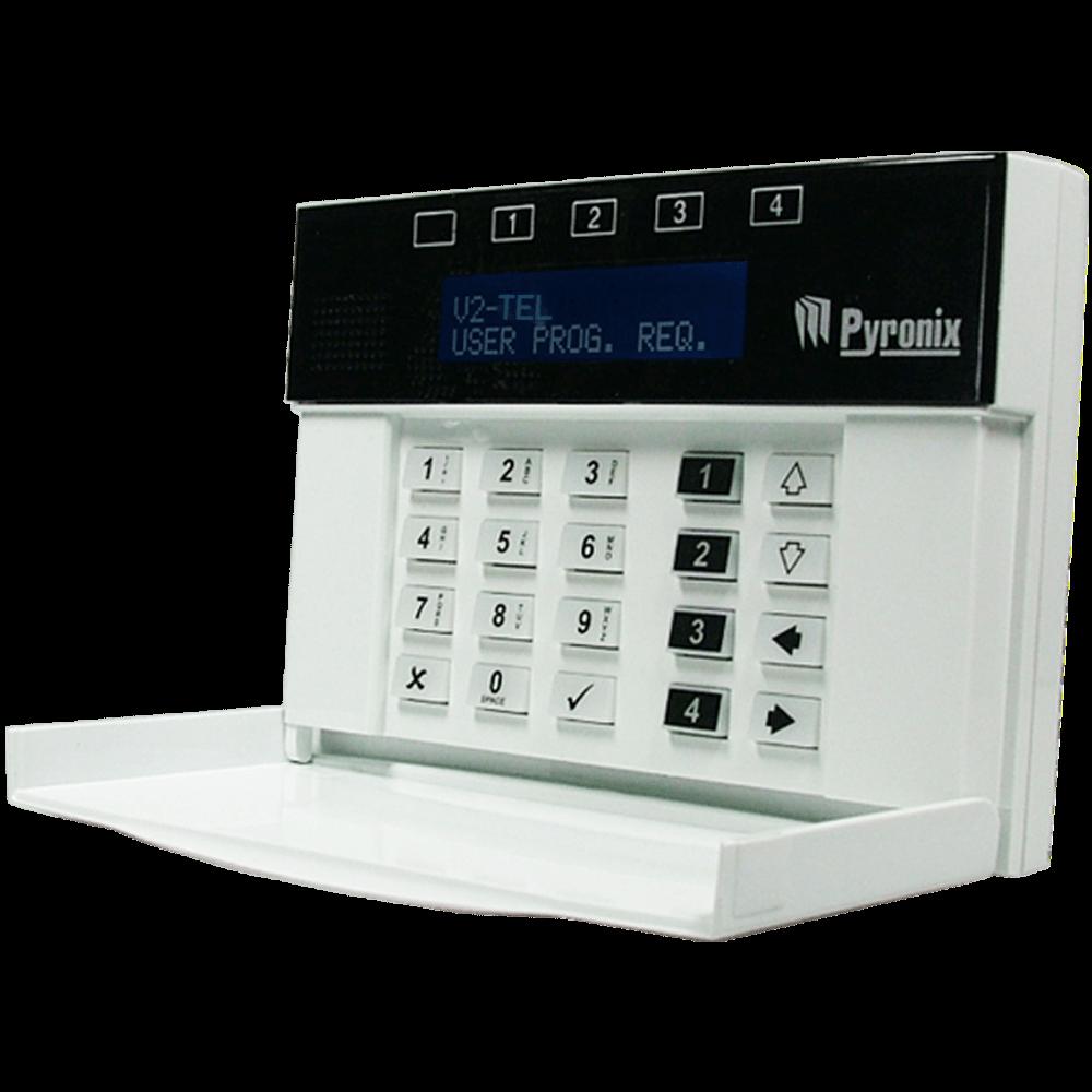 Picture of V2TEL PYRONIX PSTN alarm panel Gr/EN