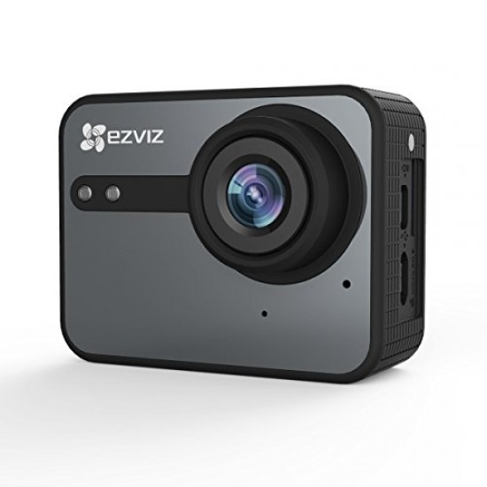 Picture of CS-SP206-BO-68WFBS Action Camera 1080P 50Fps Grey Ezviz S2