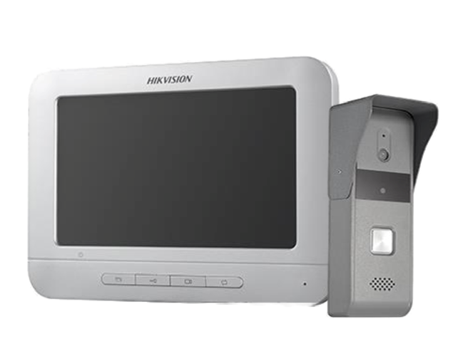Picture of DS-KIS203 Video Door Phone KIT DS-KB2421-IM+DS-KH2220 Hikvsion