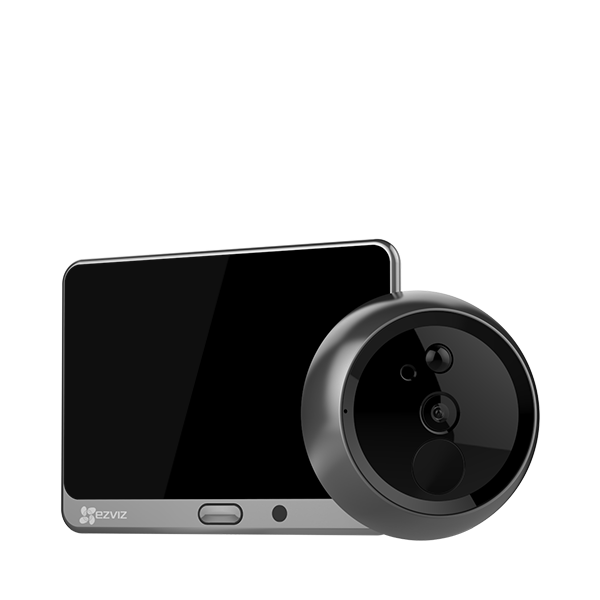 Picture of CS-DP1-A0-4A1WPFBSR 720p smart door viewer Ezviz