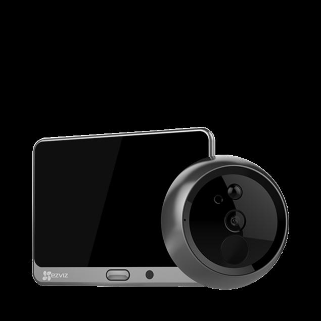 Picture of CS-DP1-A0-4A1WPFBSR 720p smart door viewer Ezviz