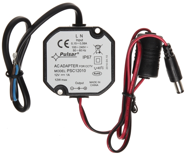 Εικόνα της PSC12010 12V/1A/55MM Power Supply