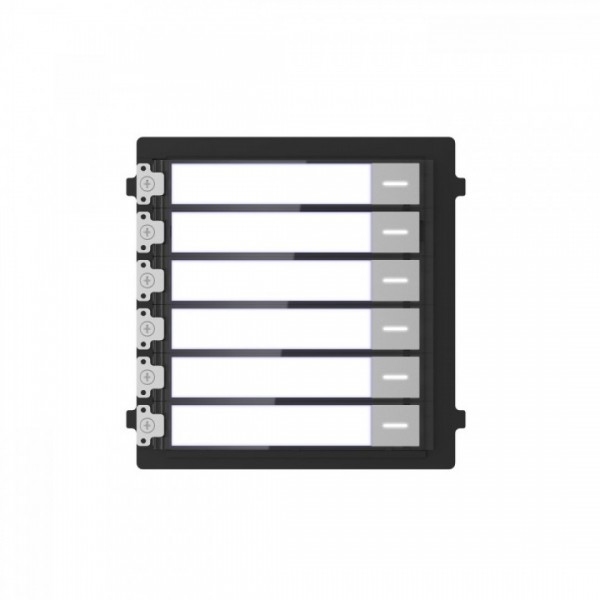 Picture of DS-KD-KK Name tag modular with 6 buttons hikvision