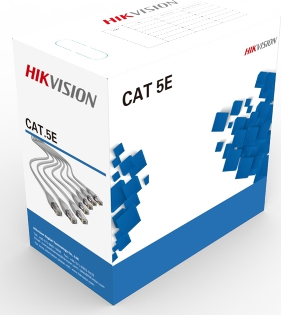Picture of DS-1LN5E-E/E UTP CAT5e Network Cable Hikvision