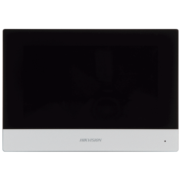 Picture of DS-KH6320-WTE1/EU Video Intercom Indoor 7-Inch Touchscreen Black Hikvision