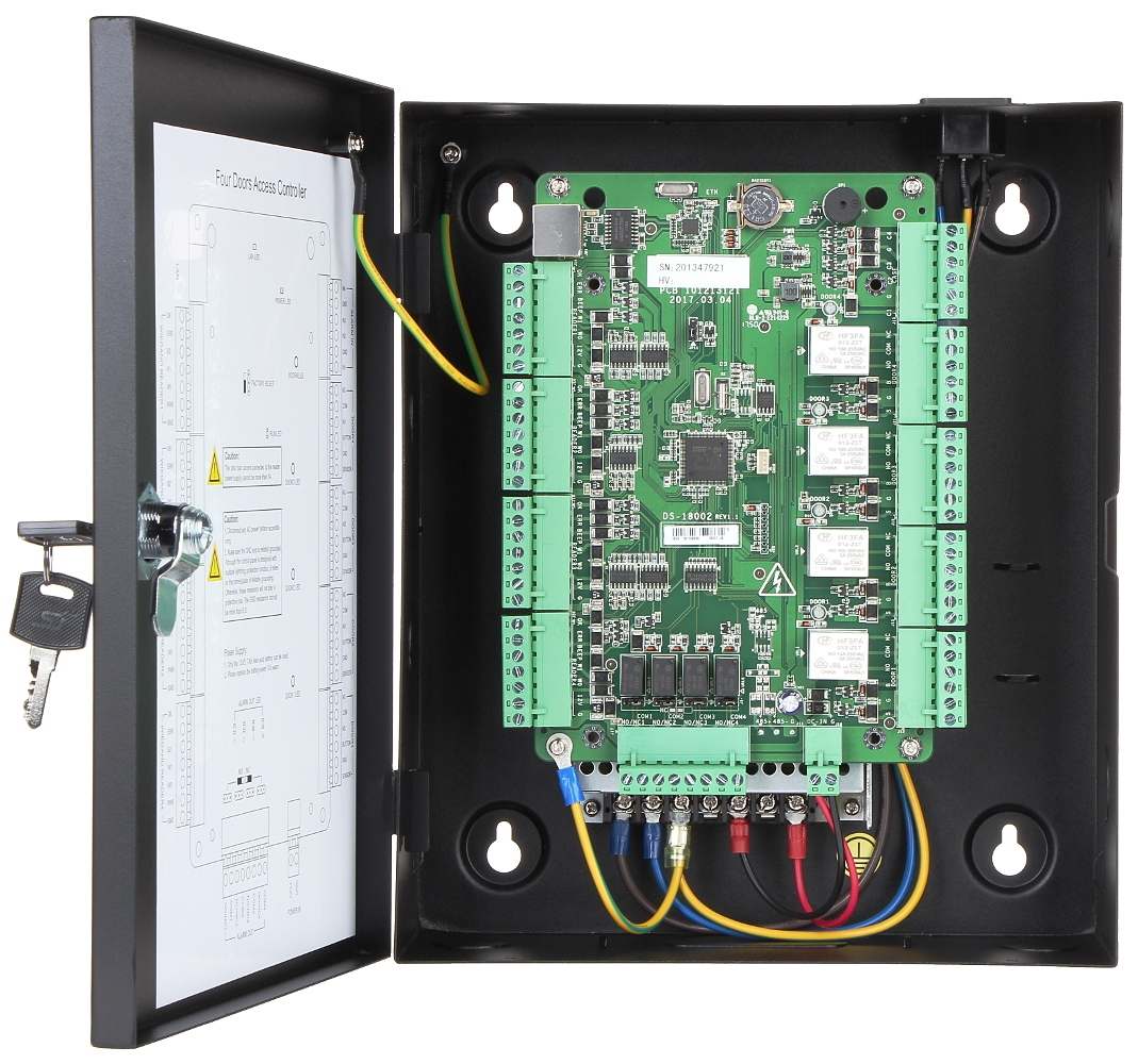Picture of DS-K2804 Network Access Controller Hikvision
