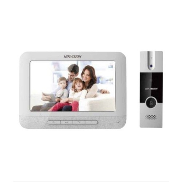 Picture of DS-KIS204 Video Door Phone KIT DS-KB2411-IM+DS-KH2220-S Hikvision