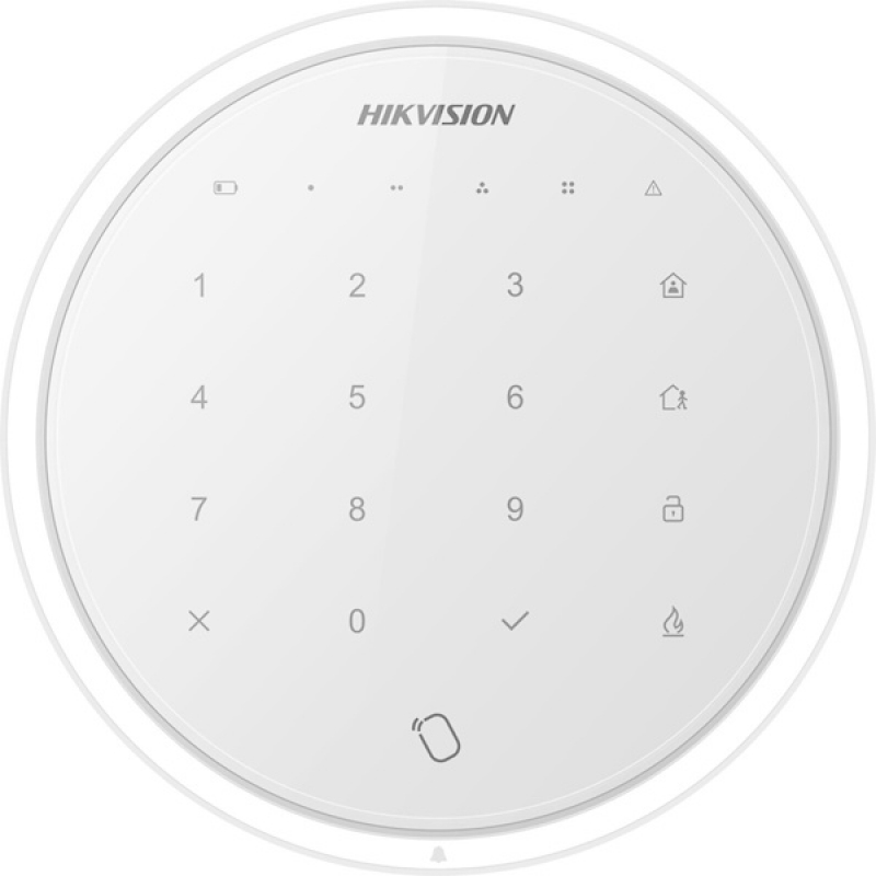 Εικόνα της DS-PKA-WLM-868 Hub Keypad White Color Hikvision