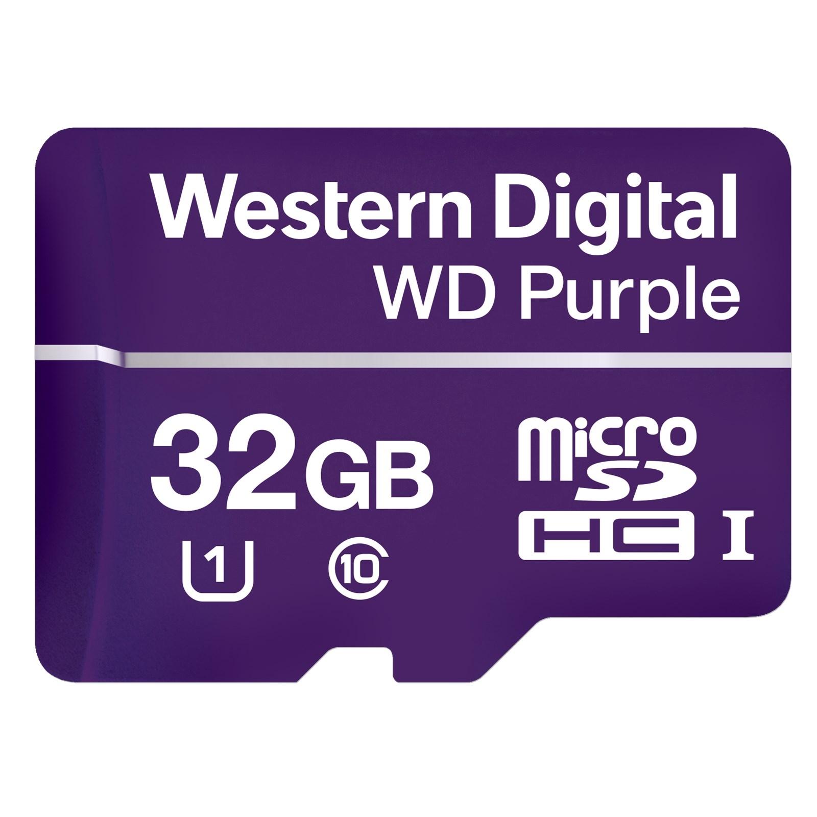Εικόνα της WDD032G1P0A 32GB WD Micro SD Card Western Digital