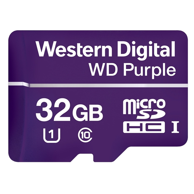Picture of WDD032G1P0A 32GB WD Micro SD Card Western Digital