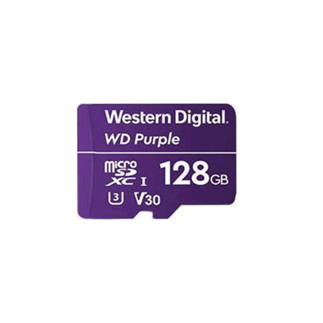 Picture of WDD128G1P0A 128GB WD MicroSD Card Western Digital