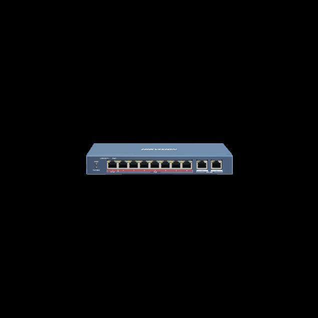 Εικόνα της DS-3E0310HP-E 7+2+1 Ports PoE Switch Hikvision