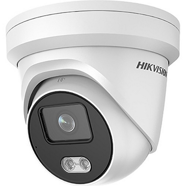 Εικόνα της DS-2CD2347G1-L 4MP ColorVu Fixed Turret IP Camera 2.8mm Hikvision