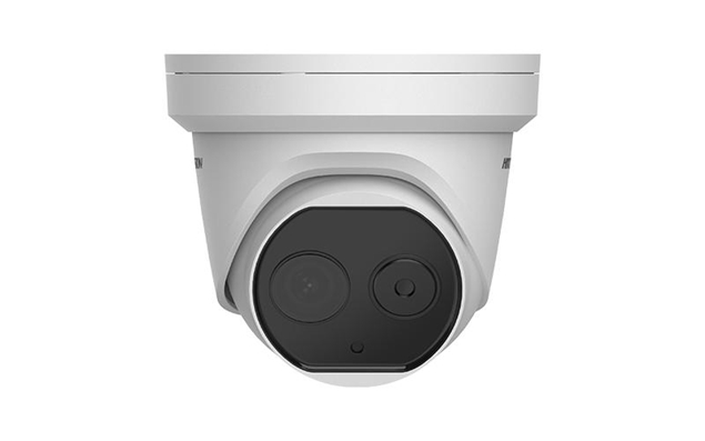 Picture of DS-2TD1217-2/V1 Thermal & Optical IP Dome Camera 1.8mm Hikvision