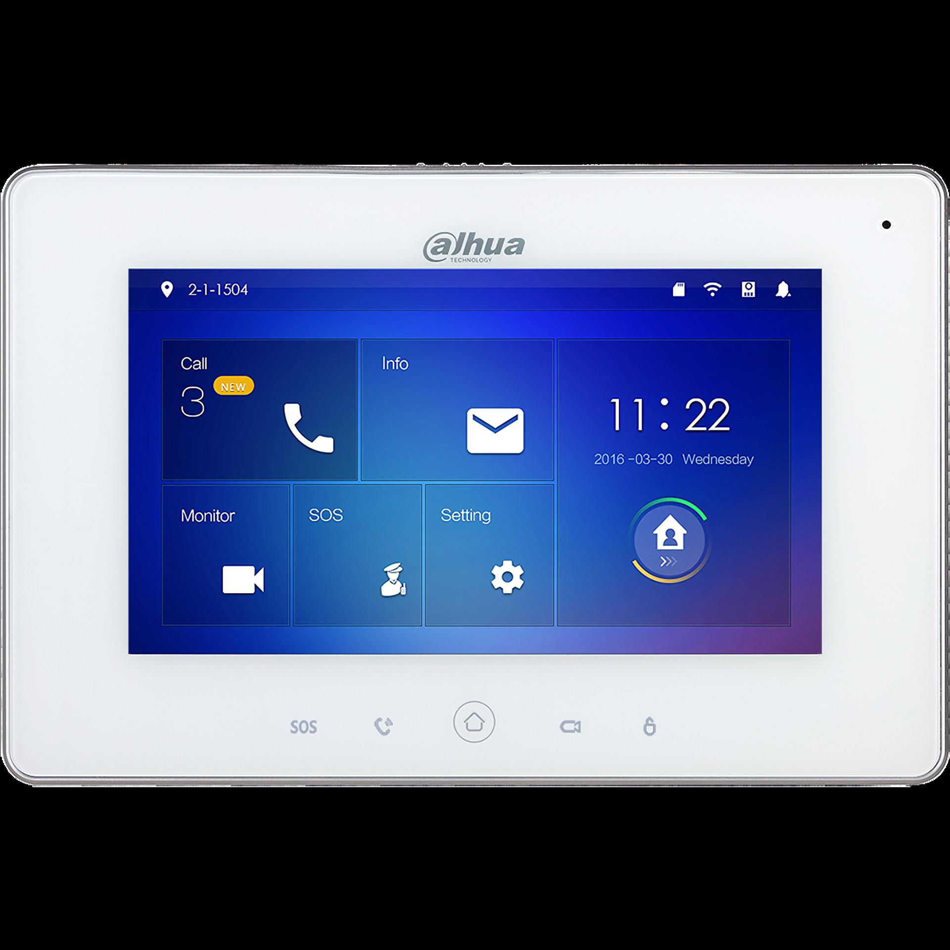 Εικόνα της DHI-VTH5221DW  WiFi Color Indoor Monitor 7-inch Touch Screen Dahua