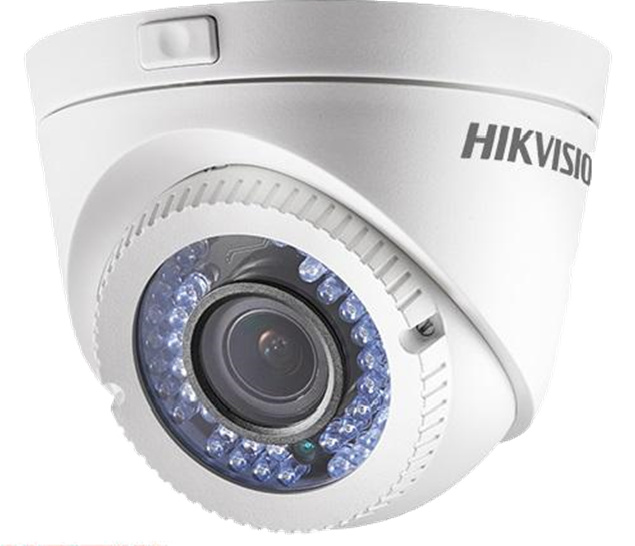 Picture of DS-2CE56C2T-VFIR3  Turbo Dome 2.8-12mm Hikvision