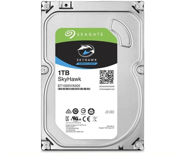 "Picture of HARD DISC 3.5"" 1TB ST1000VX005 SEAGATE SKYHAWK SATA3"