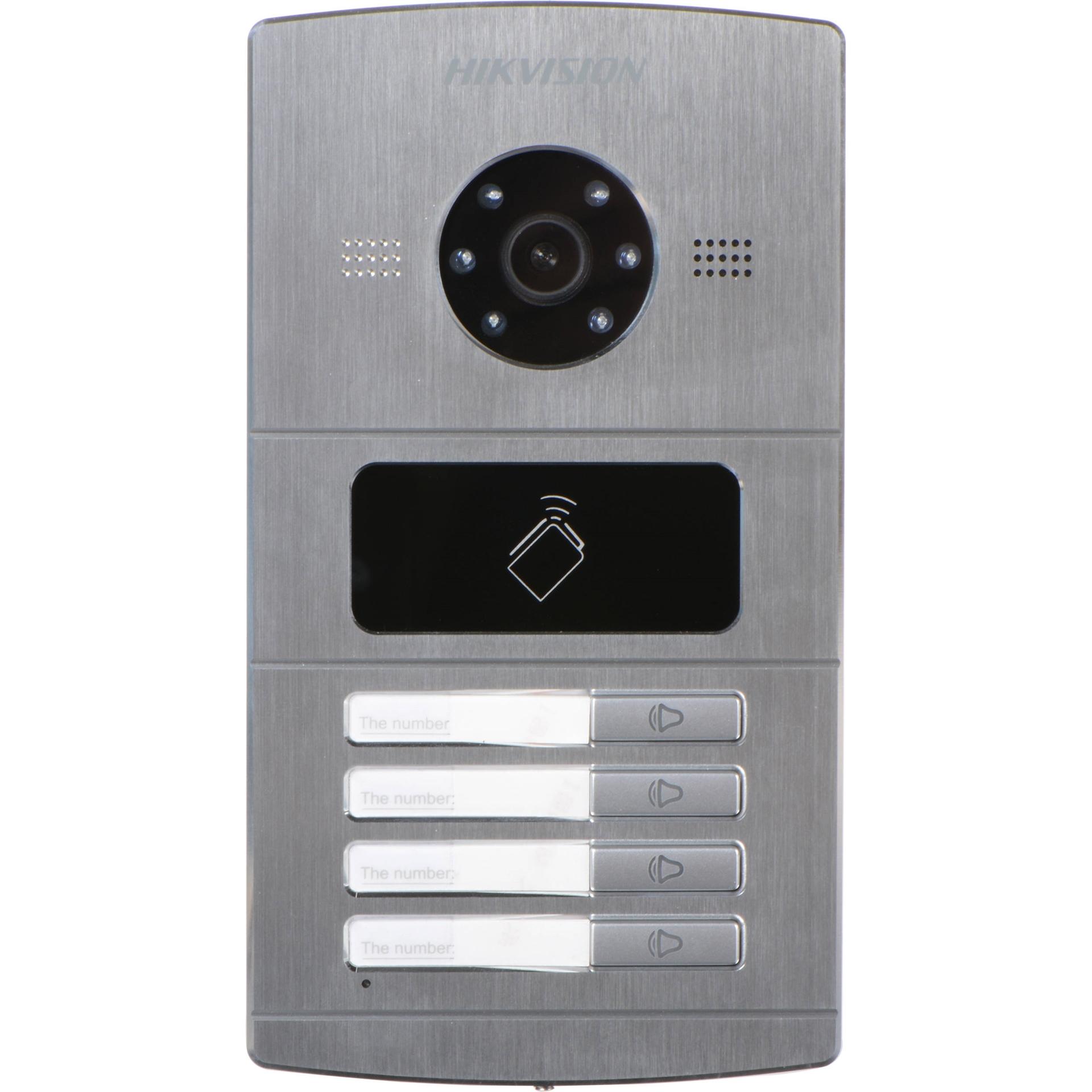 Picture of DS-KV8402-IM 4Channel Metal Villa Door Station Hikvision