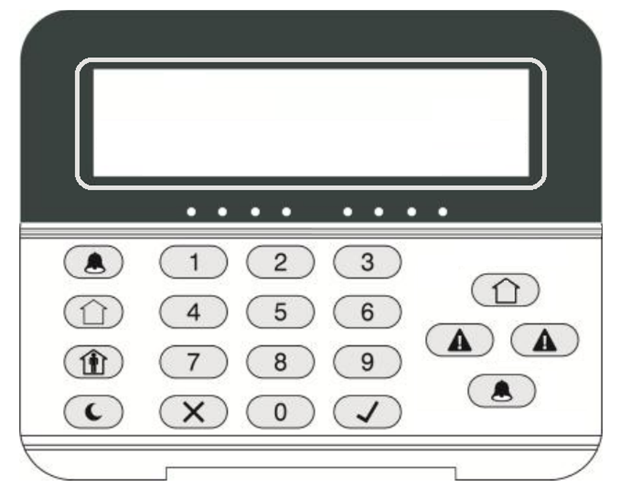 Picture for category LCD Keypad