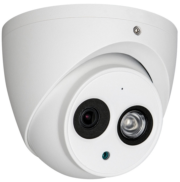 Picture of HAC-HDW1801EM-A-0360B  4K 8MP 3.6mm HDCVI IR Eyeball Dome Camera Dahua