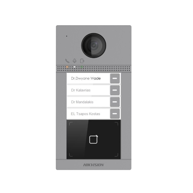 Picture of DS-KV8413-WME1 2MP 4 Button Video Intercom Module Door Station WiFi