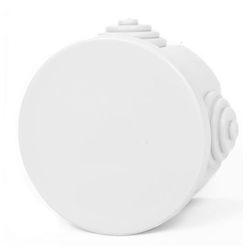 Picture of Κουτί Διακλαδάσεως Στεγανό Στρογγυλό με Καπάκι 8Χ8cm