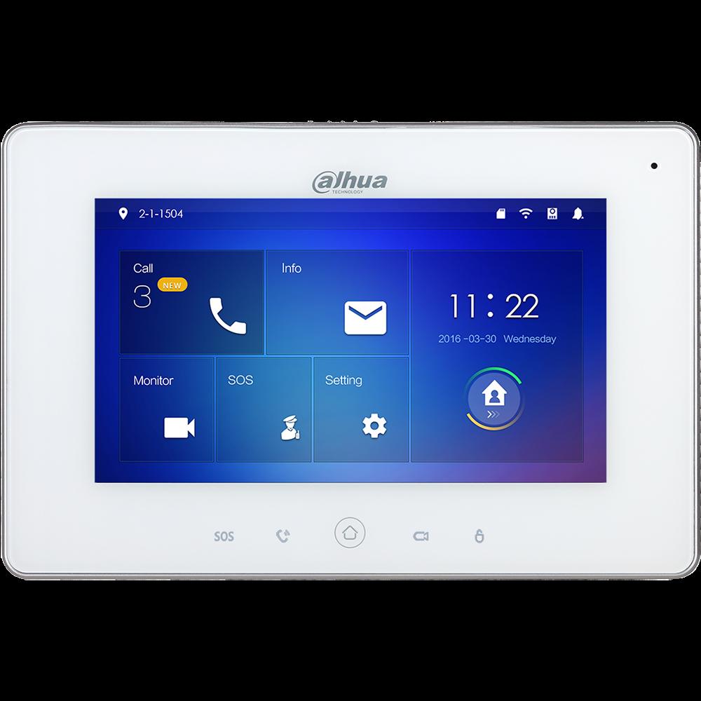 Εικόνα της VTH5221DW-S2  WiFi Color Indoor Monitor 7-inch Touch Screen Dahua