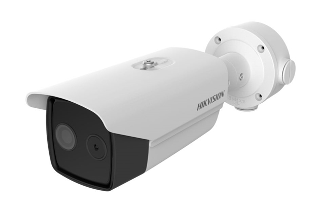 Picture of DS-2TD2617B-6/PA (B) Thermographic Bullet 6.2mm Body Temperature Measurement Camera Hikvision