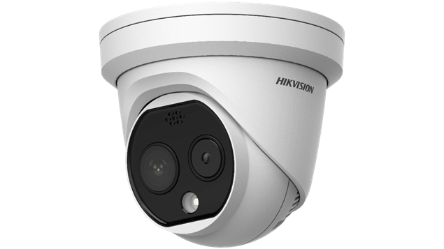 Picture of DS-2TD1217B-3/PA Fever Screening Thermographic Turret 4mm Camera Hikvision