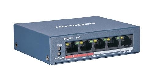 Εικόνα της DS-3E0105P-E/M (B) 4-Port Switch (Unmanaged) Hikvision