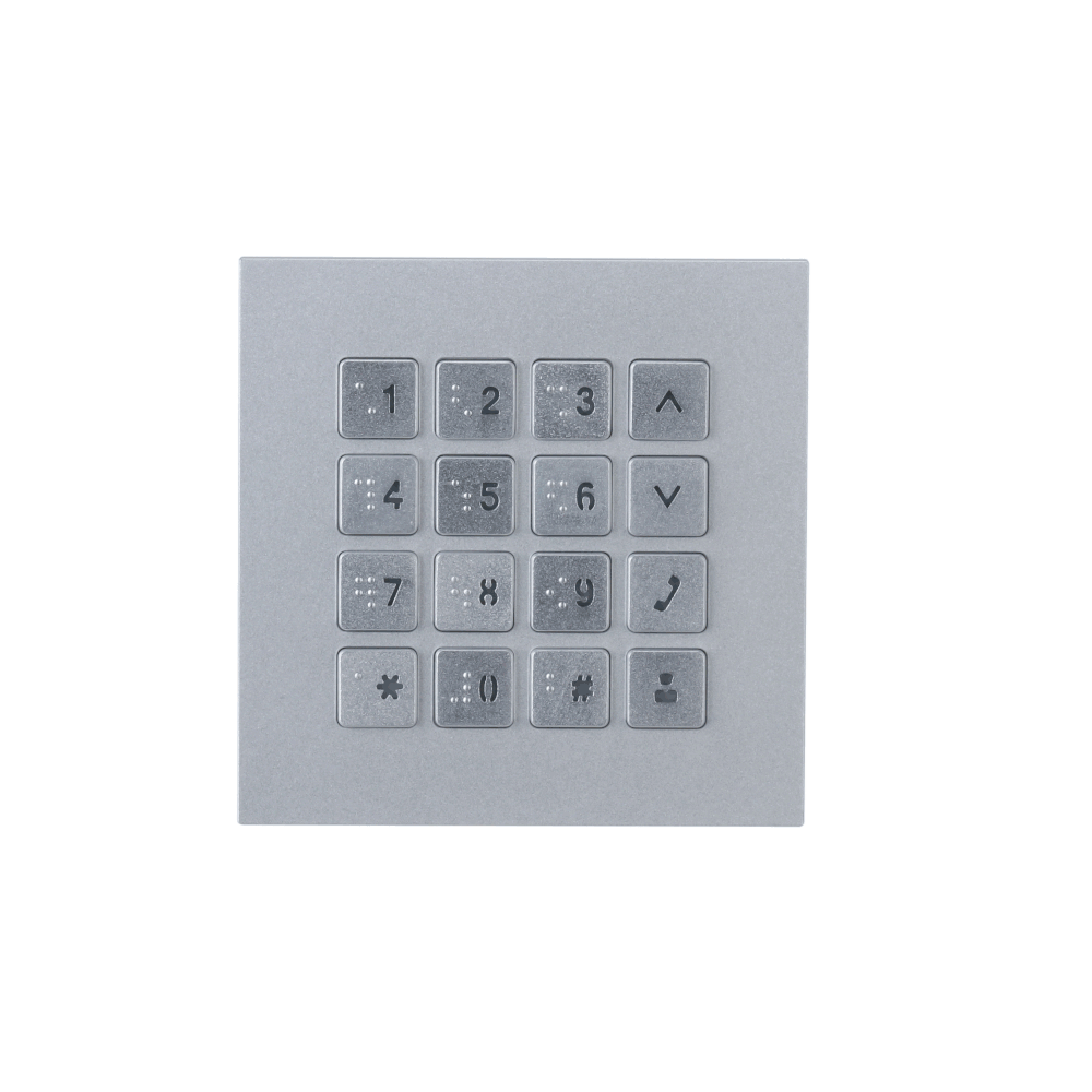 Picture of VTO4202F-MK  Keypad Module for Modular Outdoor Station Hybrid System for VTO4 Series Dahua