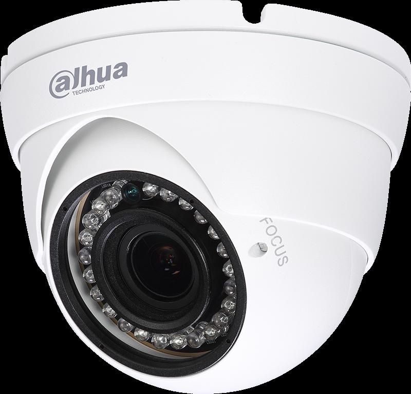 Εικόνα της HAC-HDW1200R-VF  2MP HDCVI IR Dome 2.7-13.5mm Camera Dahua