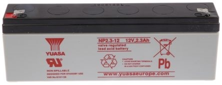 Picture of NP2.3-12  Yuasa Battery 12V-2.3Ah