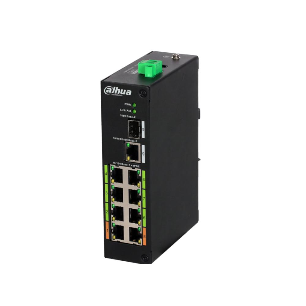 Εικόνα της LR2110-8ET-120  Layer 2 ePoE Switch Dahua