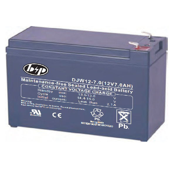 Picture of DJWS12-7  B&P Battery 7Ah