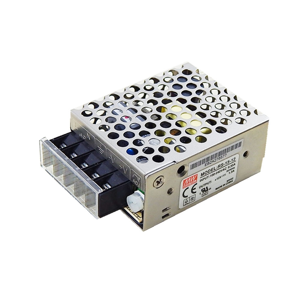 Picture of RS-15-12  Power Supply 15W 12VDC 1.3A Meanwell