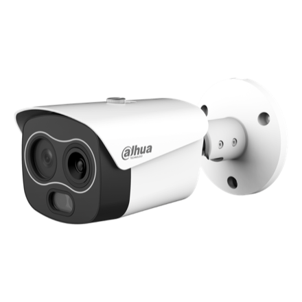Picture of TPC-BF1241  WizSense Thermal 4MP Bullet IP Camera Dahua