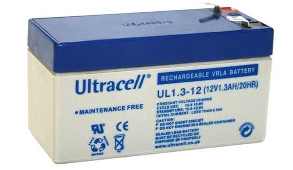 Εικόνα της UltraCell 12V 1.3Ah Battery