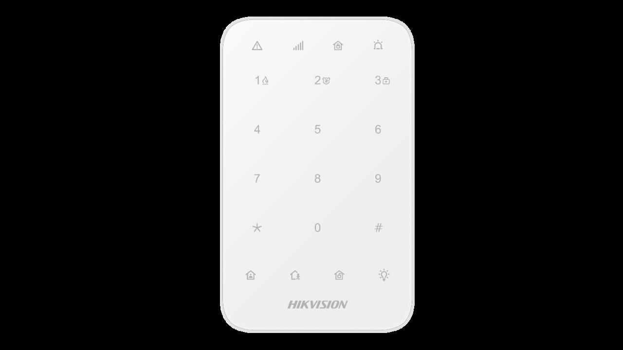 Εικόνα της DS-PK1-E-WE  Wireless Keypad Ax Pro Hikvision