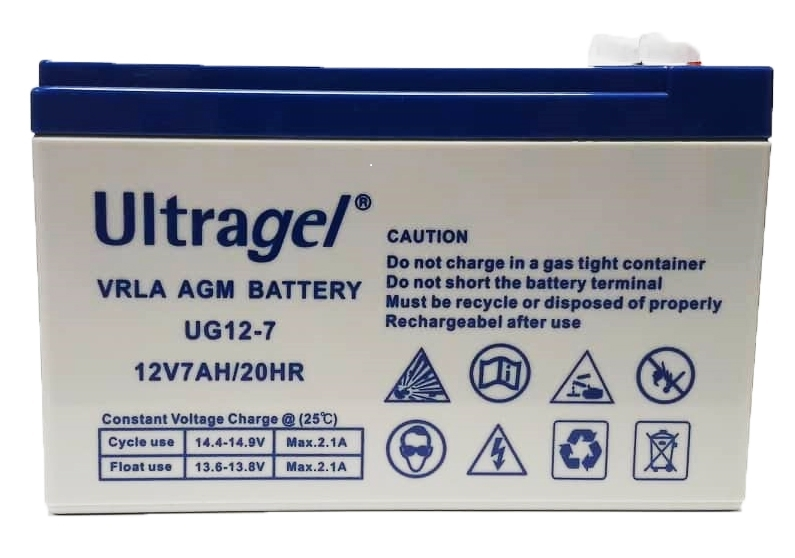 Εικόνα της Ultra & Gell Battery 12V 7Ah