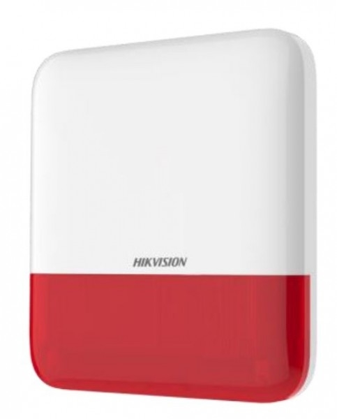 Picture of DS-PS1-E-WE-R  Wireless External Sounder (Red) Ax Pro Hikvision