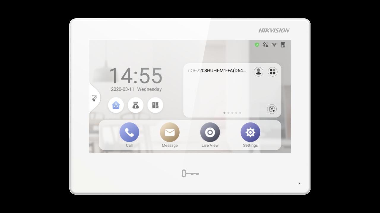 Εικόνα της DS-KH9310-WTE1  Video Intercom Network Android Indoor Station Hikvision