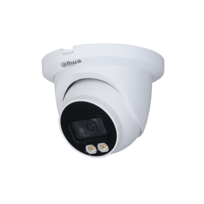 Picture of IPC-HDW3249TM-AS-LED  2MP Lite AI Full-color Warm LED Fixed-focal Dome IP 3.6mm Camera Dahua